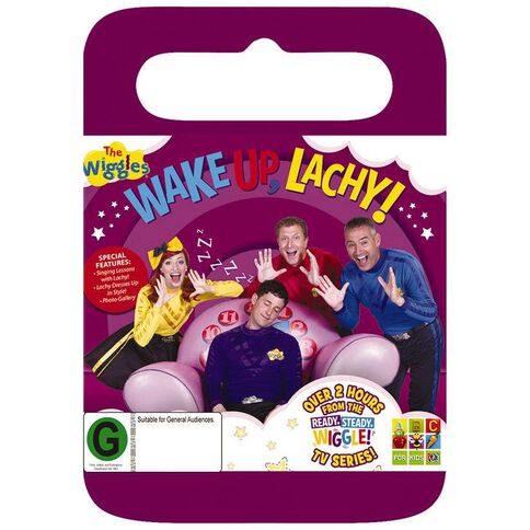 The Wiggles Wake Up Lachy DVD 1Disc