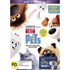 The Secret Life Of Pets DVD 1Disc