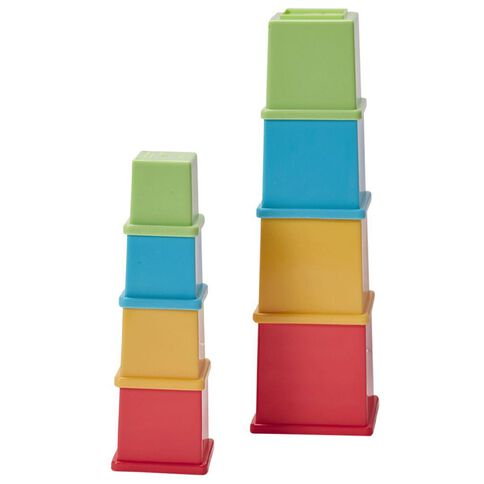 Playskool Stack N Nest Cubes Assorted