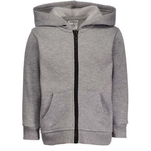 Basics Brand Toddler Boys' Zip-Thru Hoodie
