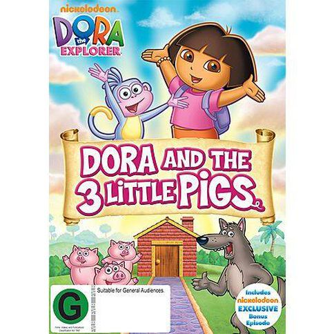 Dora The Explorer - Dora And The Three Little Pigs DVD 1Disc