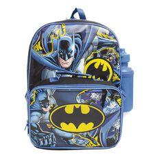 Batman Backpack Bundle Set