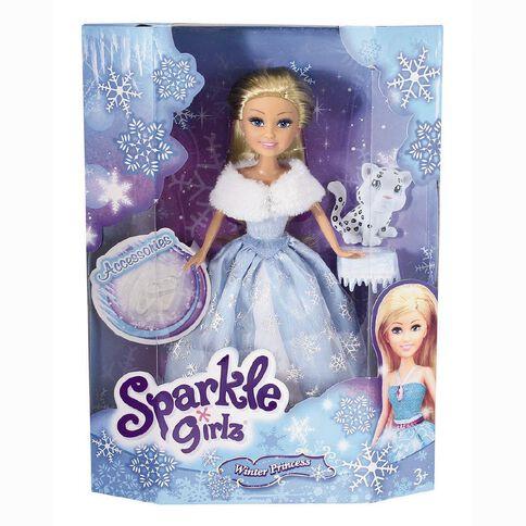 Sparkle Girlz Winter Princess with Pet Assorted