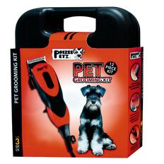 Prized Petz Pet Grooming Kit Accessories & Carry Case 12 Piece