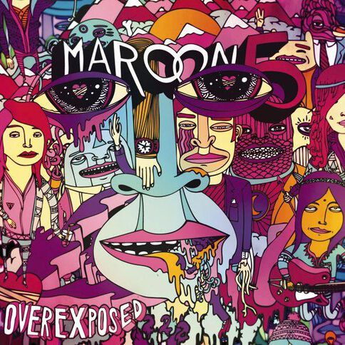 Overexposed CD by Maroon 5 1Disc