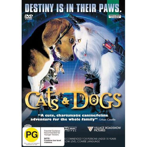 Cats and Dogs DVD 1Disc