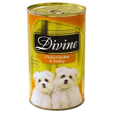 Divine Dog Chicken and Turkey 680g