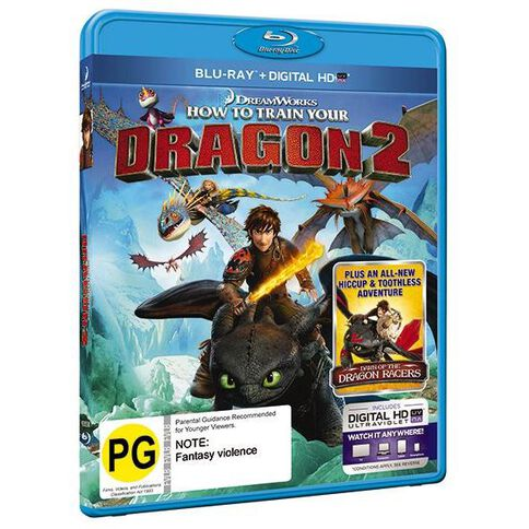 How To Train Your Dragon 2 Blu-ray 1Disc