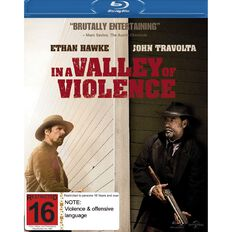 In A Valley of Violence Blu-ray 1Disc