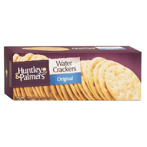 Griffin's Huntley & Palmers Water Crackers Original 125g