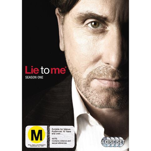 Lie To Me Season 1 DVD 4Disc