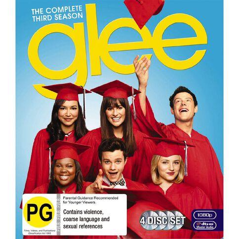 Glee S3 Blu-ray 4Disc