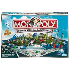 Monopoly Here & Now New Zealand Board Game
