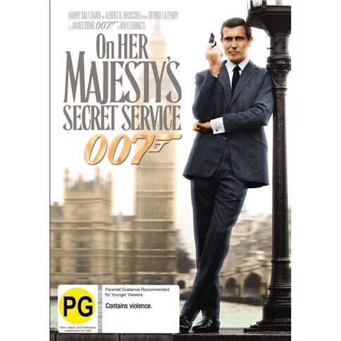 On Her Majestys Secret Service 2012 Version DVD 1Disc