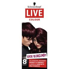 Schwarzkopf LIVE Colour Rich Burgundy