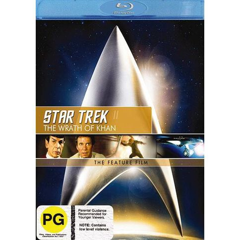 Star Trek 2 Wrth Khan Blu-ray 1Disc