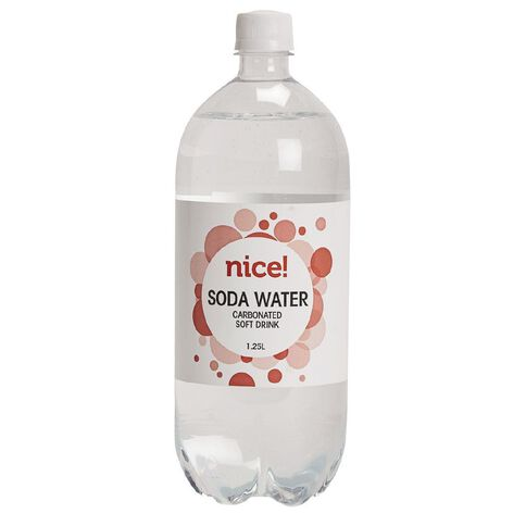 Nice Soda Water 1.25L