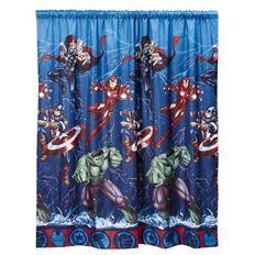 Avengers Curtain Earth