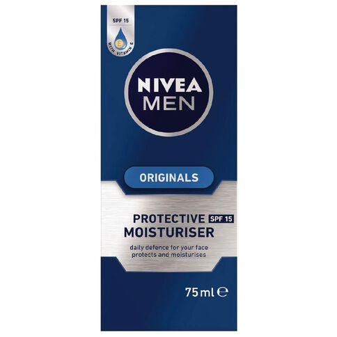 Nivea For Men Protective Moisturiser SPF15 75ml