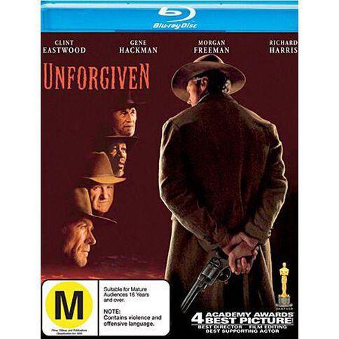 Unforgiven Blu-ray 1Disc