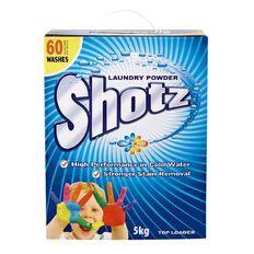 Shotz Cold Water Laundry Powder Top Loader 5kg