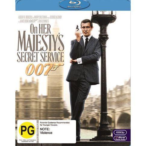 On Her Majestys Secret Service Blu-ray 1Disc