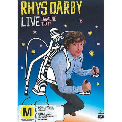Rhys Darby Live Imagine That DVD 1Disc