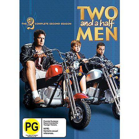 Two And A Half Men Season 2 DVD 4Disc