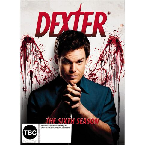 Dexter Season 6 DVD 4Disc