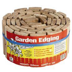 MLC Garden Edging Roll  150mm x 3m