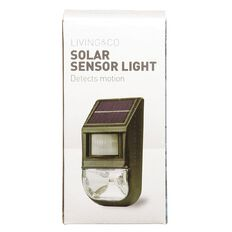 Living & Co Solar Sensor Wall Light