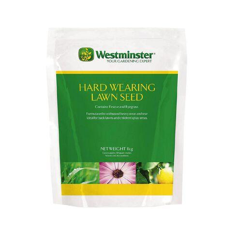 Westminster Hardwearing Lawn Seeds 1kg