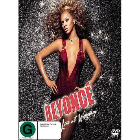 Beyonce Live at Wembley DVD 1Disc