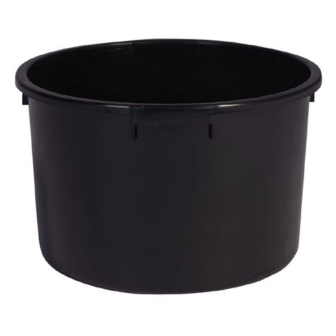 Interworld Orchid Tub Pot Black 33cm