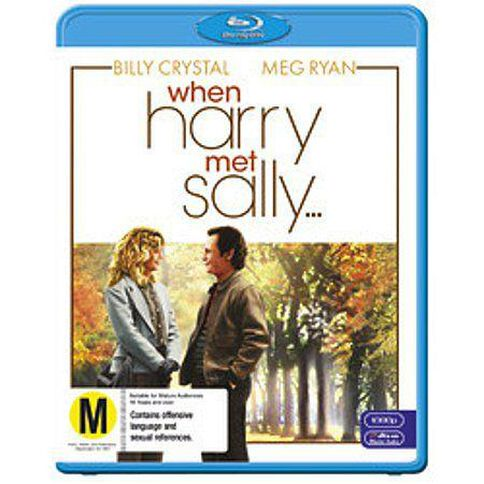 When Harry Met Sally Blu-ray 1Disc