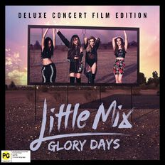 Glory Days CD/DVD by Little Mix 2Disc