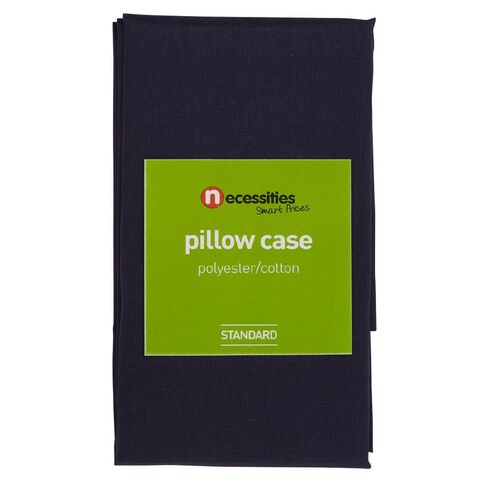 Necessities Brand Pillowcase Navy