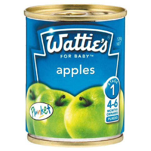 Wattie's Apples Can 120g