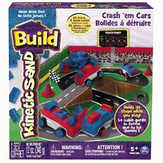 Kinetic Sand Build Bakery/Cars Assorted