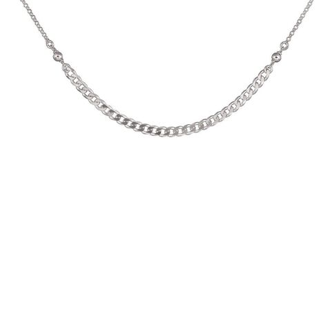 Sterling Silver Link Chain Necklace