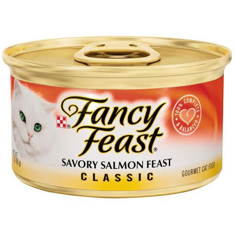 Fancy Feast Savoury Salmon Pate 85g