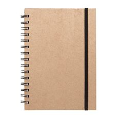 Deskwise Spiral Notebook Kraft A5