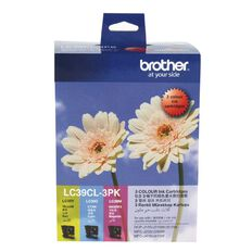 Brother Ink Cartridge LC39CL3PK Colour Three Pack
