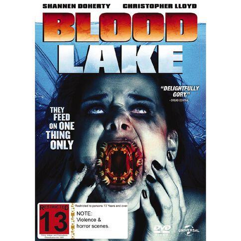 Blood Lake Attack of the Killer Lampreys DVD 1Disc