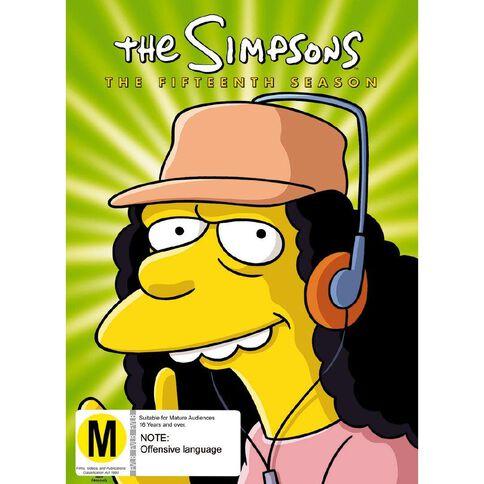 The Simpsons Season 15 DVD 4Disc