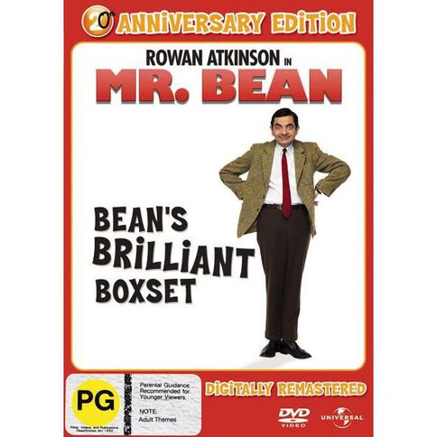 Bean's Brilliant Boxset Digitally Remastered DVD 4Disc