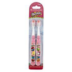 Shopkins Toothbrush 2 Pack
