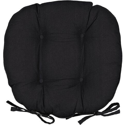 Elemis Chair Pad Novo Black 46cm x 43cm