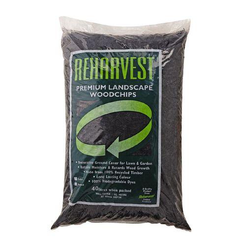 Reharvest Woodchip Black 40L