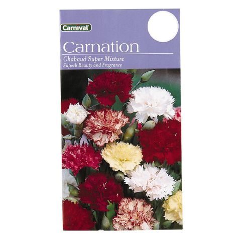 Carnival Chaubaud Flower Seeds